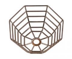 Steel Web Stopper, flush mount - stainless steel