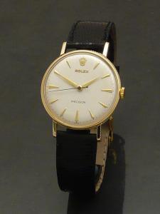 Rolex Precision 1950s 9ct gold Watch