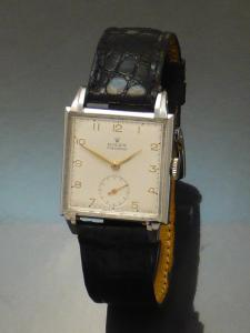 Rolex precision 1940s steel Watch