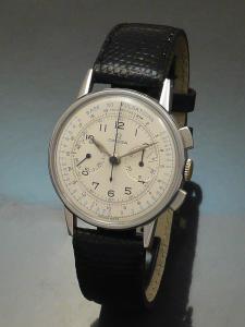 Omega chronograph 1940s steel Watch