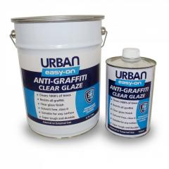 Easy-on anti graffiti coating