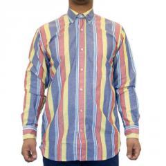 Our Legacy 1990's Button Down Panama Stripe Shirt