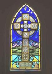 Celtic Cross and Gaelic Blessing