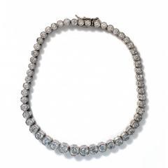 1950's Diamond Line Bracelet