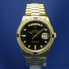 Rolex Day-Date 18k Gold 18038 Watch