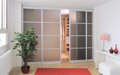 New Edge Frosted Room Divider