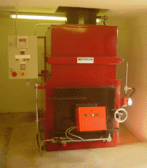 Pyrotec A30 animal cremator
