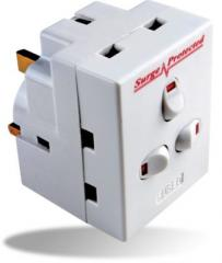 SPA3G 3-Way Individually Switched Plug-In Surge Protector Adaptor
