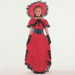 Scarlet O Hara kids fancy dress costume