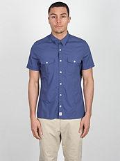 Paisley Print Button Shirt