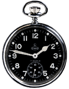 CWC Mechanical Pocket Watch