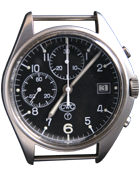 Cabot Watch Company Mechanical chronograph watch with date