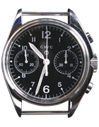 Cabot Watch Company 1970 remake mechanical chronograph