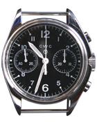 Cabot Watch Company 1970 remake mechanical chronograph