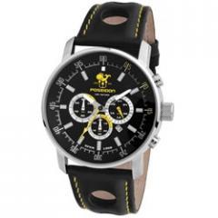 Poseidon Classic Leather Watch