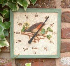 Square Robin Thermometer