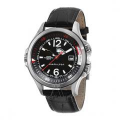 Hamilton Men's Khaki Navy GMT  Watch