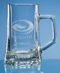 Stern Glass Beer Mug
