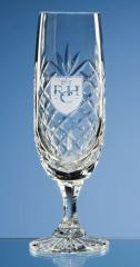 Engraved Crystal Champagne Flute