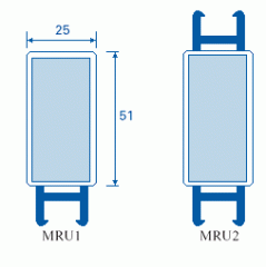 Medium re-inforced upright