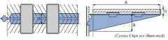 Brackets for level glass shelves with or without