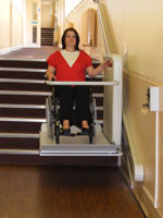 S7 Xpress Wheelchair Stairlift