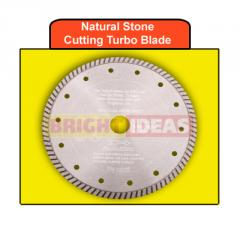 Natural Stone Cutting Turbo Blade