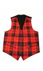 Essential Scotweb Tartan Waistcoat