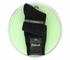 Pantherella Luxury Black Cashmere Socks