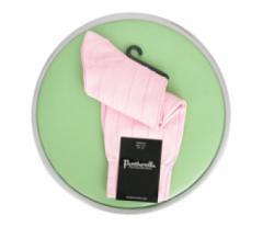 Pantherella Sea Island Cotton Light Pink Socks