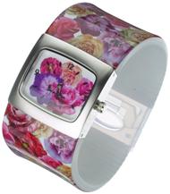 Multi flower Bangle Watch