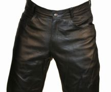Classic Leather Jeans
