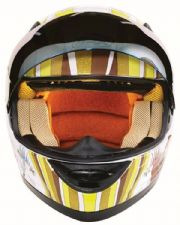 Magic Roundabout Motorcycle Helmet