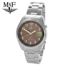 MSF Solar Powered, radio controlled date watch