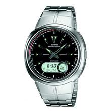 Casio radio-controlled alarm watch