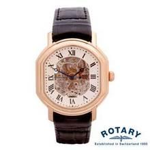 Rotary rose gold watc