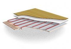 Low-Build System Underfloor Heating System