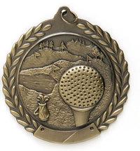 Gold Golf Medal
