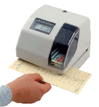 Acroprint 400 Warranty Clock / Time Recorder /