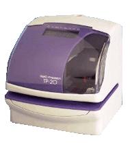 The Seiko TP20 A Time Recorder, Warranty Clock,