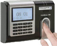 Biometric Finger Time & Attendance System