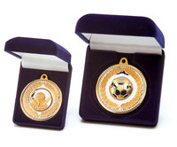 Quality Gold/Silver Medal 60mm