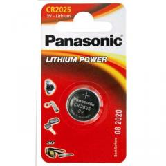 Panasonic Lithium Power CR2025 Coin Battery