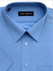 Rael Brook Mid Blue Short Sleeve Shirt