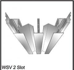 1 & 2 Way High Capacity Slot Diffuser