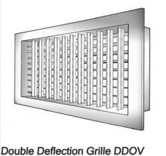 Double Deflection Grilles For Supply Type DDOV