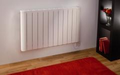 Digital is an aluminium electric radiator