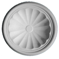 CP238 Centre Dome Ceiling Rose