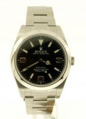 Used Rolex Explorer I Watch