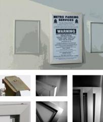 Extrusion For Non-Illuminated Panel Signs